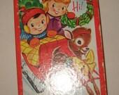 1950s Lot 12 unused Christmas cards Very Cute