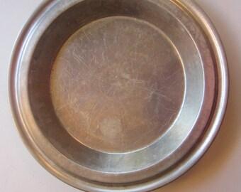 vintage no drip pie tin - Century aluminum pie tin