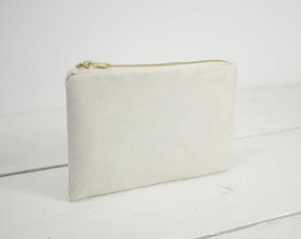Simple photo clutch available in 54 colors  | Simple wedding purse | Bridesmaid personalized gift