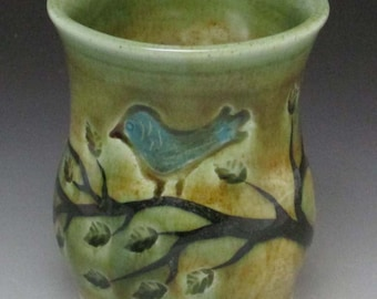 Blue Bird Juice Cup