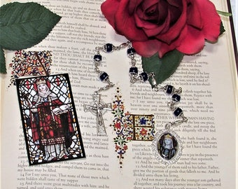 St. Margaret of Scotland Unbreakable Catholic Chaplet - Patron Saint of Widows, Parents of Large Families and Against the Death of Children