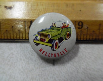 Dale Evans pinback, Bullet pinback, Nellybelle pinback, Grape nut flakes roy rogers lot