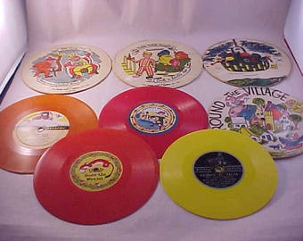8 Colorful Chidren's Records