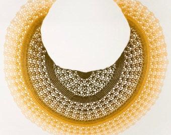 Crochet pattern : Byzantium Shawl