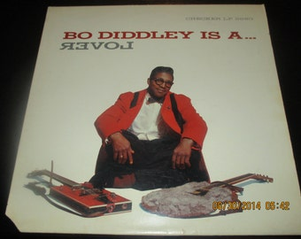 Bo Diddley VG++ vinyl - Bo Diddley is a Lover - lps in NM- Condition