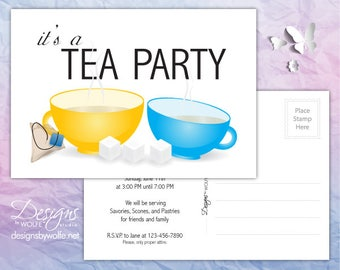 Printable Invitation Cards, Party Printable Invitation, Invitation Cards Printable Postcards, Invitation Postcards Printable