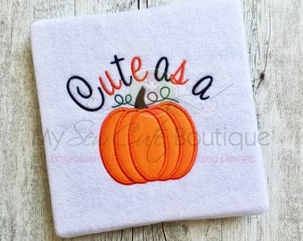 Thanksgiving Embroidery Designs Machine Applique Cute Sayings - Applique Downloads - Holiday Appliques - 8 Sizes - Instant Download