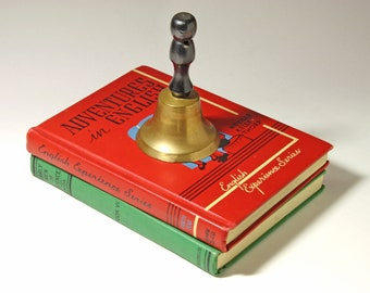 Vintage School Bell - circa 1940's