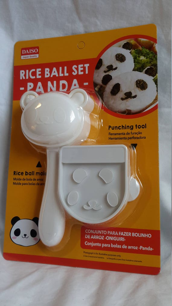 super kawaii bento box japanese lunch box panda rice mold nori punch so very cute portion. Black Bedroom Furniture Sets. Home Design Ideas