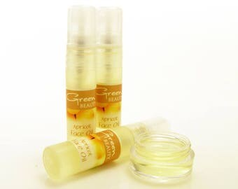 Face Oil Sample with Rosehip Seed Oil, Exotic blend of light anti aging oils that repairs and rejuvenates your skin. Face serum moisturizer.