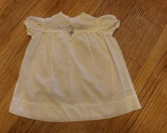 Vintage White Baby's Dress