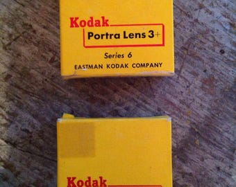 Vintage New in Package Kodak Portra Lens Series 6 3+