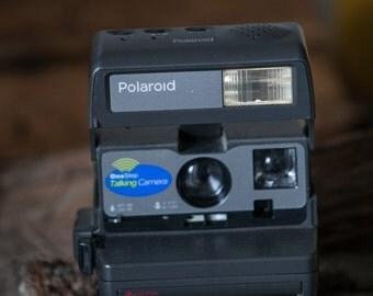 Polaroid One Step Talking Instant Camera
