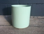 Vintage Light Green Gainey Ceramic Planter