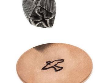 Metal Stamp Soaring Bird  5mm Metal Design Stamp-Metal StampingTool-Jewelry Tool-Metal Supply Chick