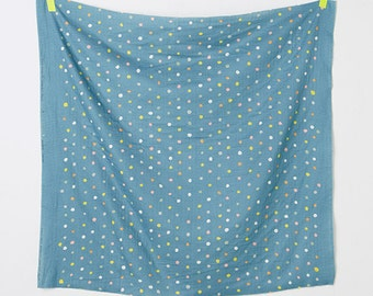 "Nani iro  Colorful Pocho Japanese fabric Rivage double gauze  50cm length by 110cm or 19"" by 42"""