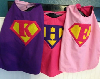 KIDS CAPE, personalized cape, superhero cape with mask, gift for kids, party favor, birthday gift for kids, superhero cape, supehero