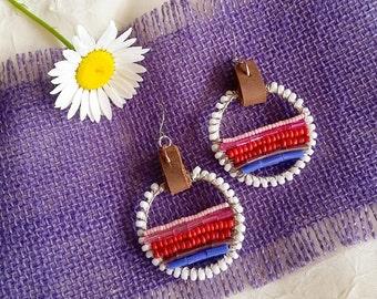 Beaded Boho Bliss Earrings