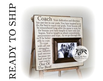 Basketball Coach Gift, Soccer Coach Gift, Baseball Coach Gift, READY TO SHIP, 16X16 The Sugared Plums Frames