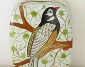 Hand Painted Bird Box