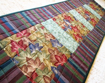 Asian Inspired Quilted Table Runner