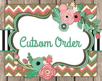 Custom order for Bibbidibobbidibling