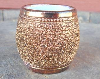 Toothpick Holder. Gilt. Porcelain. Dinnerware. Porcelain Dinnerware. Gilt Vase. Porcelain Vase. Antique. 1900s. gold porcelain