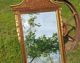 ON SALE VINTAGE Mirror, Wall Mirror, Ornate Mirror, Federal Mirror, Decorative Mirror, Nursery Mirror, Size 39 x 25  ,Choose Color