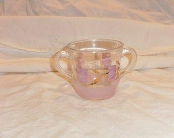 Vintage Lavender Gay Fad Sugar Bowl