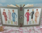 Ladies and Misses Dress Fashion Journal with Vintage 1920's McCall's Sewing Pattern Cover