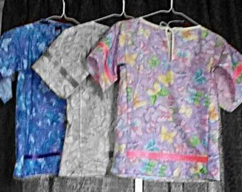 Toddler/ Child - Ribbon Shirt or Dress - Regalia - Cloth - Material - Clothing - Dance - Dancing - Gift Idea - American Indian Art