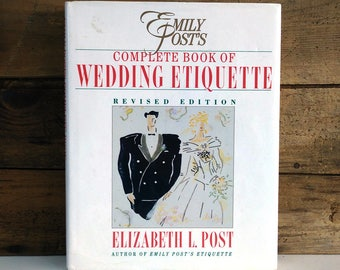 Emily Post's Complete Book of Wedding Etiquette, 1991 revised edition