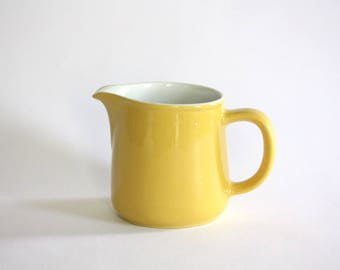 Vintage Yellow Pitcher made in Finland by Arabia