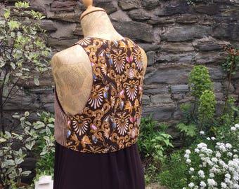 Double Design Mix And Match Waistcoat, Festival Vest