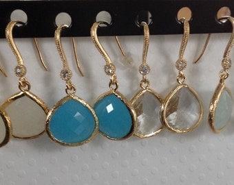 Sale Earrings Glass earrings on sale Black Friday, Cyber Monday sale, dangle earrings, gift jewelry, earrings Gift, bridesmaid gift