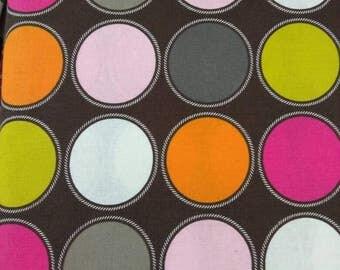 Per Yard Circles print fabric, Cotton Print/ African Designer fabrics/ Wholesale African print fabrics