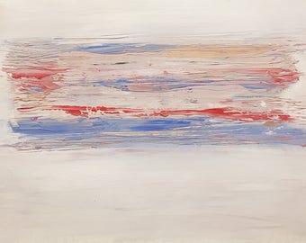 Wading - Acylic Painting