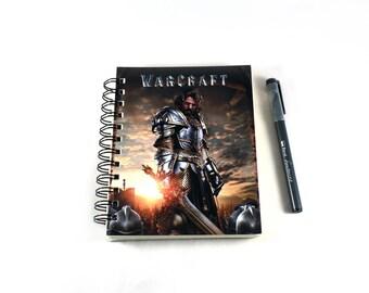King Lane Upcyled World of Warcraft Movie Card Book Sketchbook Journal