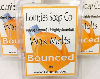 Bounced Wax Melt 3oz /Highly Scented/Handmade/Fresh Laundry