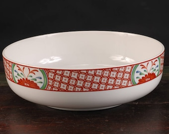 Georges Briard, Flowers of Seto Serving / Centerpiece Bowl
