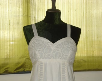 White Dress. Size 38.