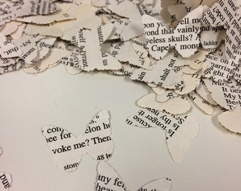 Wedding Confetti Hand Punched Romeo and Juliet Over 250 Butterfly Punches - Rippy Bits by TangoBrat