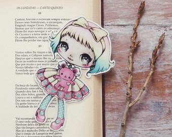 Little bear - bookmark - made to order