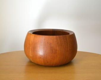 Mid Century DANSK Quistgaard Staved Teak Bowl