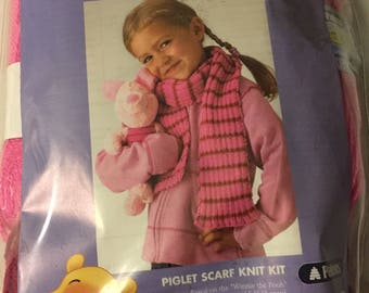 Disney Learn to Knit Kit for Piglet Scarf