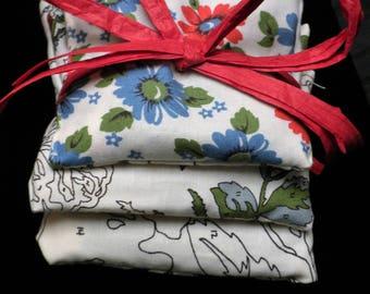 A Set of 3 Lavendar Filled Sachet Pillows