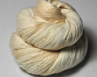 Rotten butter OOAK - Merino/Cashmere Fine Lace Yarn