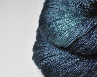 Dead Marshes - Merino/Silk/Cashmere Fine Lace Yarn