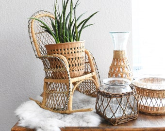 Small Rocking Chair Etsy