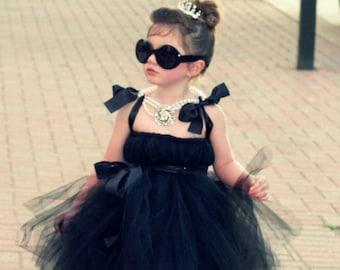 Tutu Dress by Atutudes | Audrey Hepburn Tutu Dress | Black Tutu Dress | Tutus Dresses for Toddlers | Tutu Dresses for Toddlers